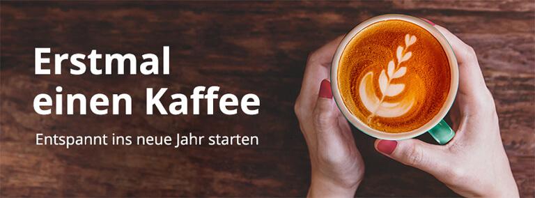 Erstmal einen Kaffee