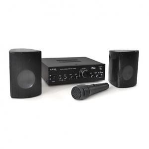 Karaoke-Star1 Karaoke-Anlage Verstärker Endstufe Boxenset Mikrofon