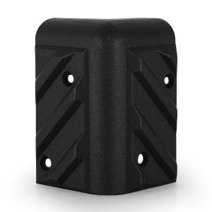 LLE Schutzecken 4er Set PA Boxen Lautsprecher universal Plastik 52x52x85mm