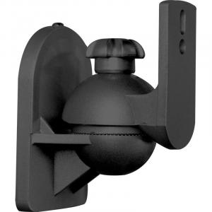 Paar Lautsprecherhalter schwarz <3,5kg Heimkino HiFi Schwarz