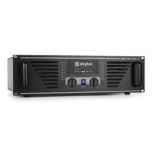 PRO 2000 PA-Verstärker Endstufe 2 x 1000W max. schwarz