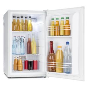 MKS-6 Minibar Mini-Kühlschrank Zimmerkühlschrank Klasse A 66L hellgrau Weiß