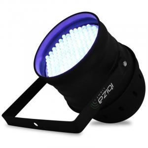 Schwarzlicht LED-Strahler Ibiza LBL-64LED 64 PAR64 DMX