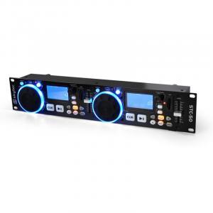 STC-50 DJ-MP3-Player 2 Decks USB SD Scratching
