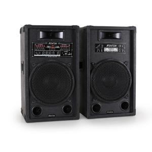 SPA1200 aktives PA-Boxen-Set 30cm 1200W USB-SD-MP3