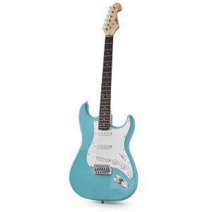 CAL63 E-Gitarre Erle/Ahorn-Korpus 22 Bünde Tremolo