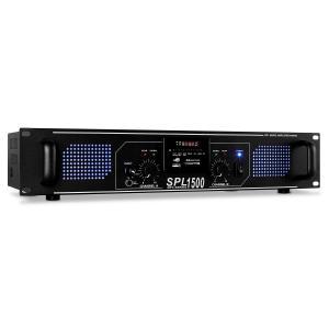 SPL-1500 HiFi-PA-Verstärker USB-SD-MP3 2 x 750Wmax.