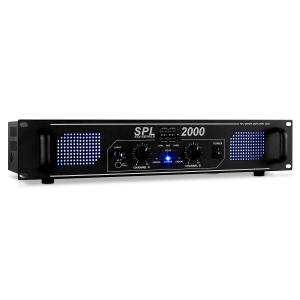 SPL-2000-EQ HiFi-PA-Verstärker 48cm LED-Effekt