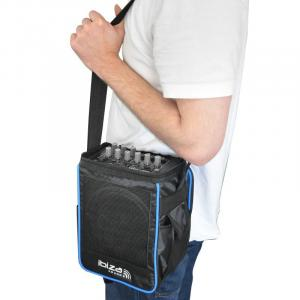 Port-6 mobile PA-Anlage Akku 12V kompakt Tasche