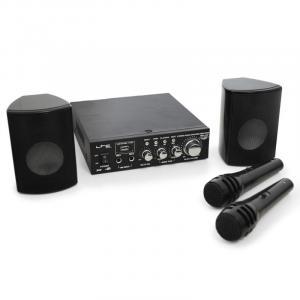 Karaoke-Star2 Karaoke-Anlage Verstärker Endstufe Boxenset Mikrofon