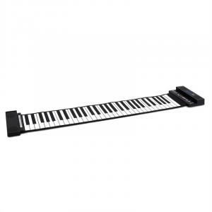 EC2-61SP Stereo Roll-up Piano 61 Tasten-Keyboard Schwarz