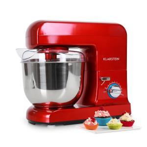 Gracia Rossa Küchenmaschine 1000W 1,3 PS rot Rot