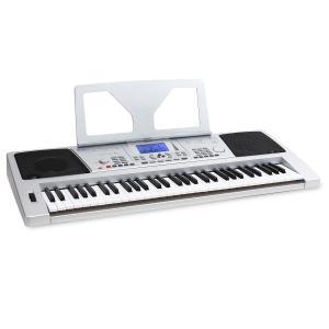 Sub61B USB-MIDI-Keyboard 61 Tasten LINE-Out Aufnahme-Funktion silber Silber