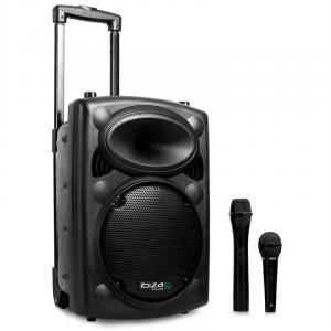 Port10VHF-BT mobile PA-Box Akku Trolley USB-SD-MP3 BLUETOOTH 500W