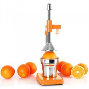 EcoJuicer Saftpresse Hebelmechanik orange handbetrieben Orange