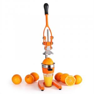 EcoJuicer XXL Saftpresse orange Hebelmechanik handbetrieben Orange