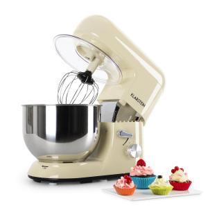 Bella Morena Küchenmaschine, 1200W 1,6 PS, 5 Liter Creme