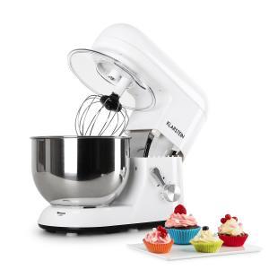 Bella Bianca Küchenmaschine, 1200W 1,6 PS, 5 Liter Weiß