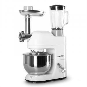 Lucia Bianca Rührmaschine Fleischwolf Mixer 1200W 1,6 PS 5L Weiß