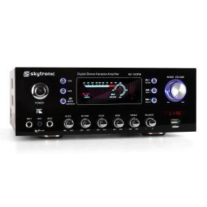 AV-120FM HiFi PA-Verstärker Karaoke USB MP3 Radio