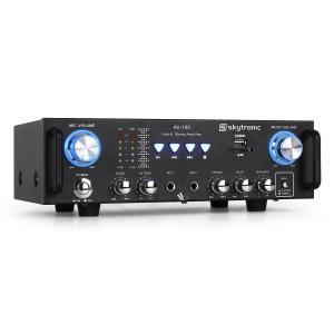 AV-100 HiFi PA-Verstärker Karaoke SD USB MP3