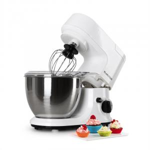Carina Bianca Küchenmaschine 800W 1,1 PS 4 Liter Weiß
