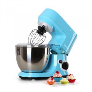 Carina Azzura Küchenmaschine 800W 1,1 PS 4 Liter Blau