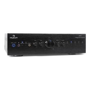 CD708 HiFi-Stereo-Verstärker AUX schwarz 600W Schwarz