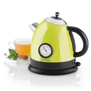 Aquavita Wasserkocher citrusgrün 1,5l 2200W Grün