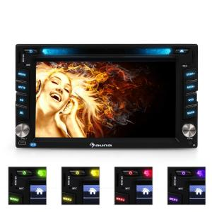 MVD-480 Moniceiver DVD CD MP3 USB SD HD 6,2'' Touchscreen Bluetooth