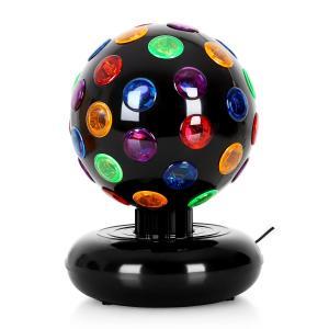 Disco Ball Party-Licht-Effekt 7W schwarz