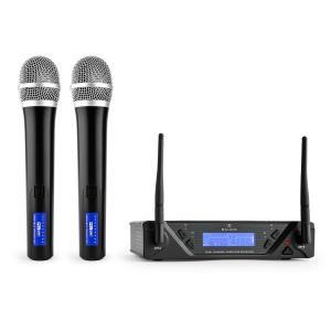 UHF-450 Duo1 2-Kanal UHF-Funkmikrofon-Set