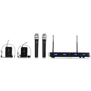 UHF-550 Quartett3 4-Kanal UHF-Funkmikrofon-Set