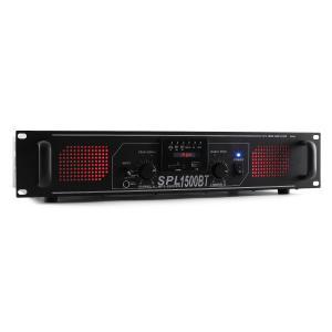 SPL 1500BTMP3 Hifi-PA-Verstärker Bluetooth USB SD MP3 AUX UKW LED 1500W