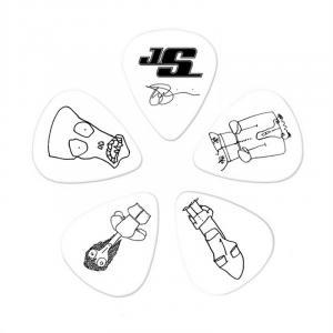 Plektren CWH4-10JS Joe Satriani COLLECTIBLE Guitar Picks 10er Pack