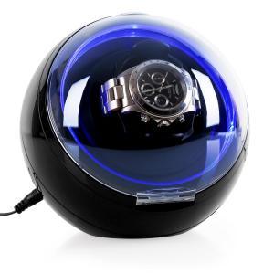 St.Gallen-Deux Uhrenbeweger 4 Modi LED Schwarz