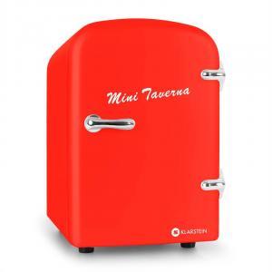 Bella Taverna Kühlschrank Kühl-/Warmhaltebox Mini 4 Liter rot Rot