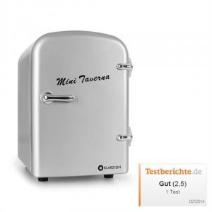 Bella Taverna Kühlschrank Kühl-/Warmhaltebox Mini 4 Liter silber Silber