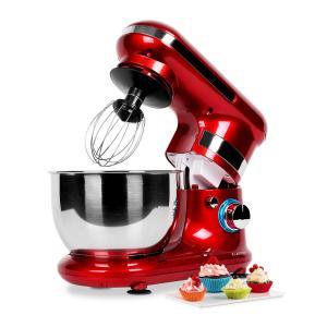 Serena Rossa Küchenmaschine Rot 600W 4tlg. Rot