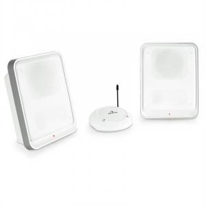 Loft 30 UHF-Funklautsprecher System kabellos weiß