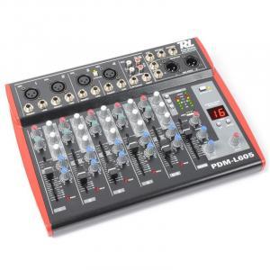 PDM-L605 6-Kanal-Mischpult USB AUX MIC +48V