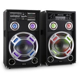 KA-12 aktives Karaoke-PA-Lautsprecher Set USB SD AUX