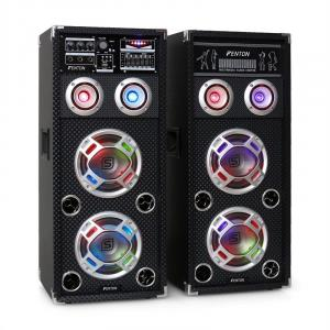 KA-26 aktives Karaoke-PA-Lautsprecher Set USB SD AUX