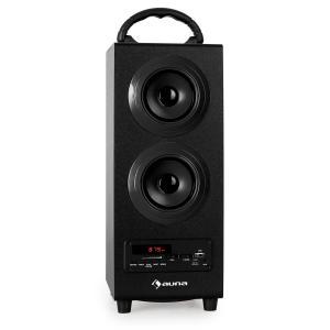 Beachboy Bluetooth-Lautsprecher USB SD AUX UKW/MW schwarz Schwarz | L