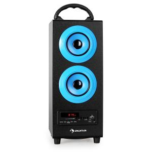 Beachboy Bluetooth-Lautsprecher USB SD AUX UKW/MW blau Blau | L