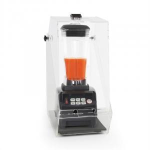 Herakles 5G Standmixer Schwarz mit Cover 1500W 2,0 PS 2 Liter BPA Frei Schwarz