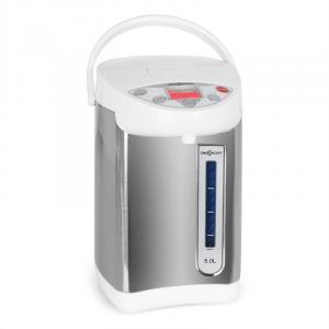 Grand Champion Thermo Pot 5 Liter 680W weiß/silber Weiß