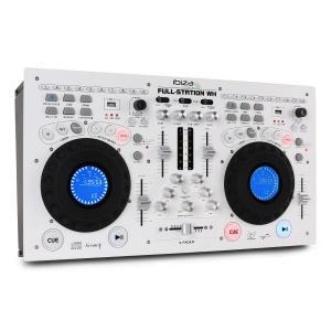 Full-Station DJ Set Doppel CD-Player Scratch Mixer USB SD MP3