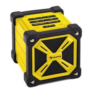TRK-861 Bluetooth-Lautsprecher mobil Akku Outdoor gelb