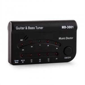 Tuner MD-3001 Stimmgerät Gitarre Bass